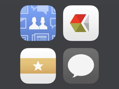 iOS7 Third Party Replacements ios7 iphone facebook vsco vscocam reeder kik winterboard
