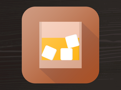 Whiskey Flat icon app whiskey flat design 512
