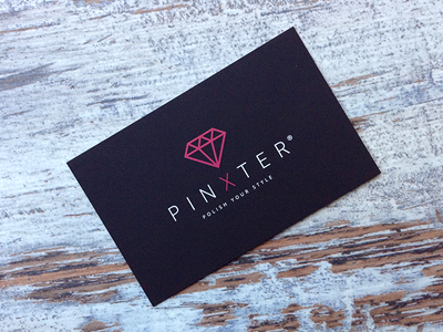 Pinxter Calling Card pinxter visit card fashion app