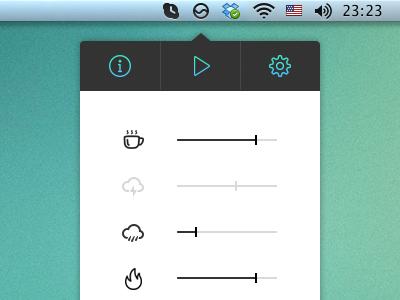 Noizio App UI