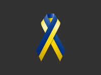Ribbon to the Independence Day of Ukraine!