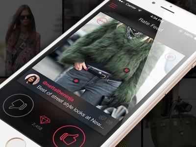 Redesign of Pinxter Fashion App