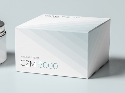 Packaging mineral cream box cream mineral packaging
