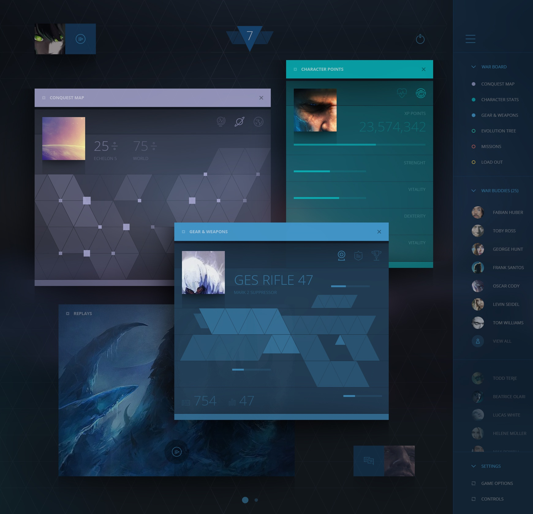 Dribbble Resumegamepixelsjpg By Cosmin Capitanu