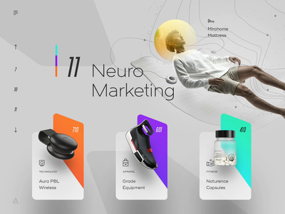 Neuro Marketing wire mapa tech web landing site micro floating commerce store analytics gallery product marketing