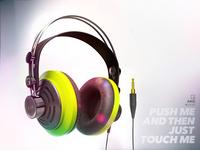 3D maya Headphones