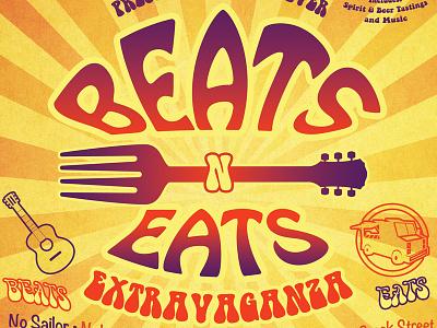 Beatsneats Poster poster illustration design