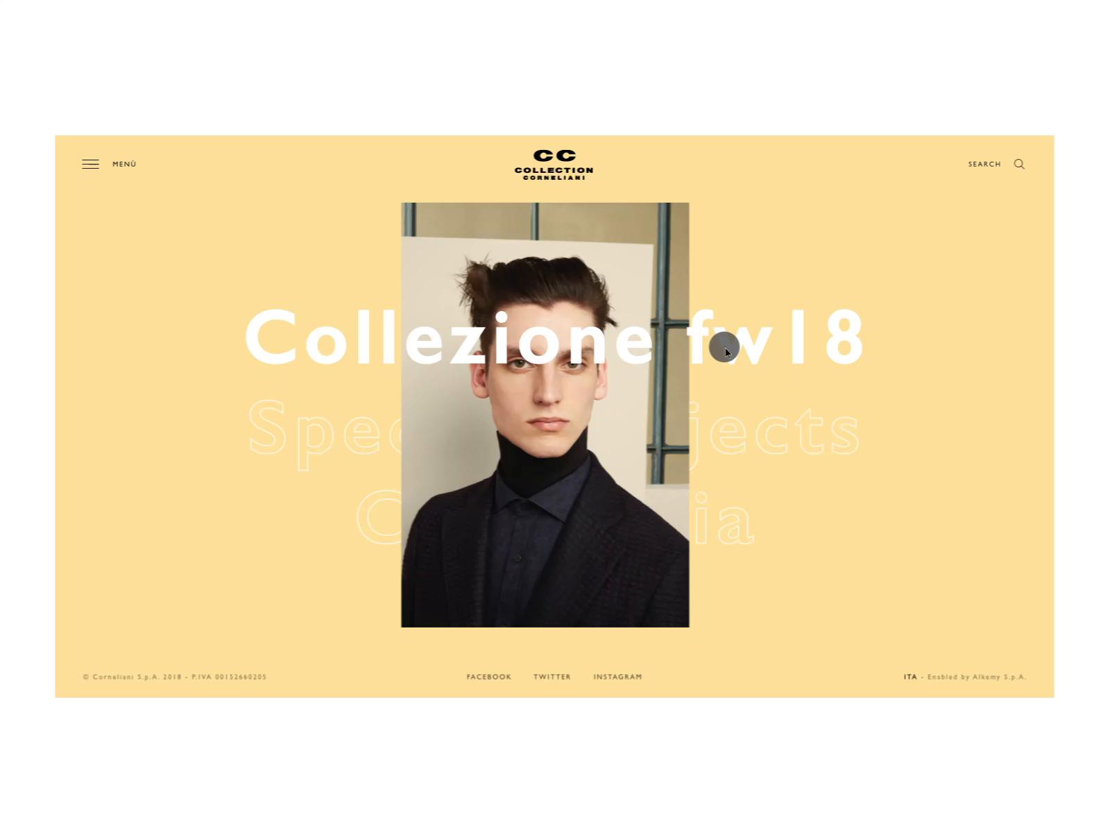 Cc corneliani   collection page