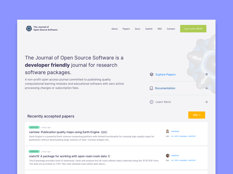 Journal of Open Source Science science ux ui open source