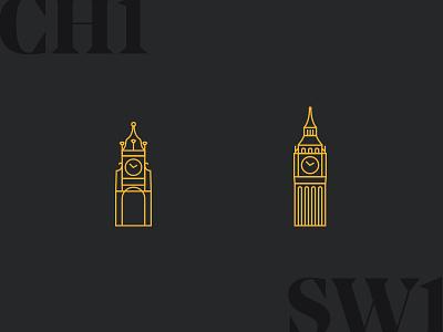 Chester to London london chester illustration clocks