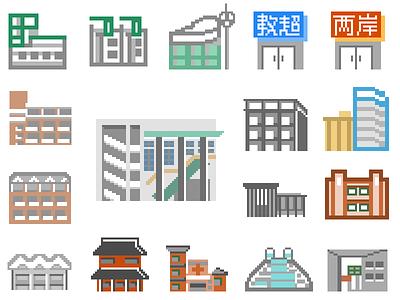 Monopoly Icons game icon pixel