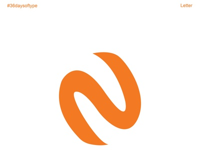 Letter N graphic design flat vector typography minimal logo illustrator illustration design branding