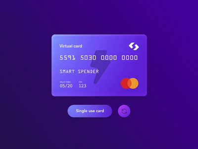 Spendesk New Virtual Cards spendesk virtual card plastic card identity fake 3d design product design branding after effect 3d animation