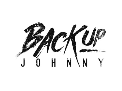Backup Johnny band logo