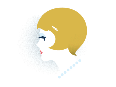 lux daisy buchanan 20s portrait simple