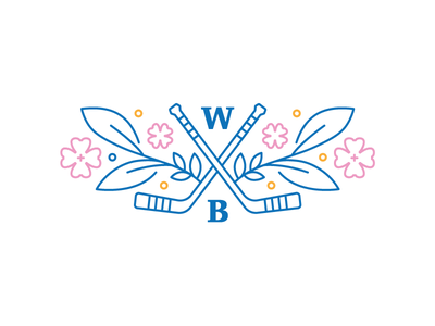 Wedding on ice tricolor white cold blue flowers ice hockey wedding