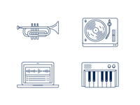 Score a Score icons