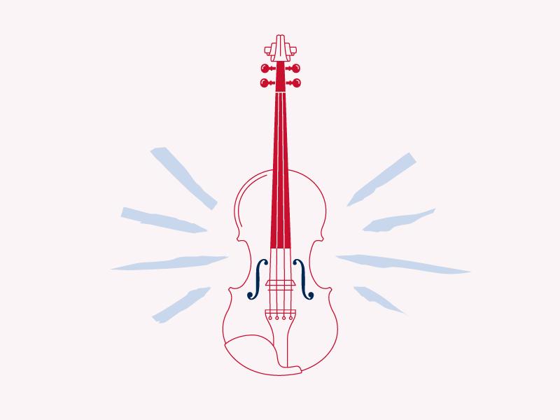 Dribbble sas violin