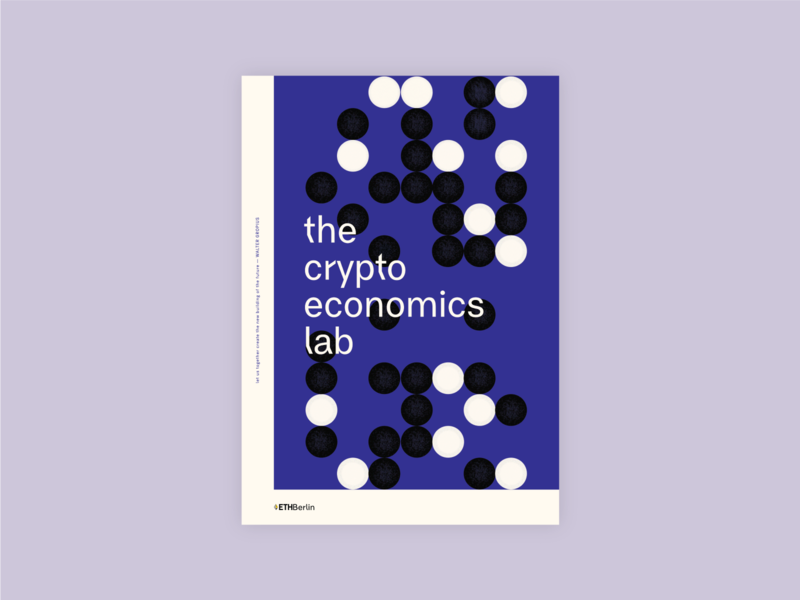 EthBerlin 2019 The Cryptoeconomics Lab gropius lavender ethberlin purple abstract lab economics cryptoeconomicis crypto bauhaus berlin poster designer poster design blockchain