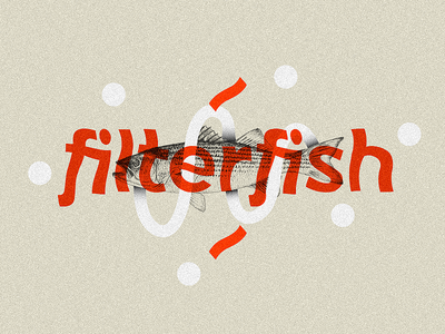 Filterfish typography