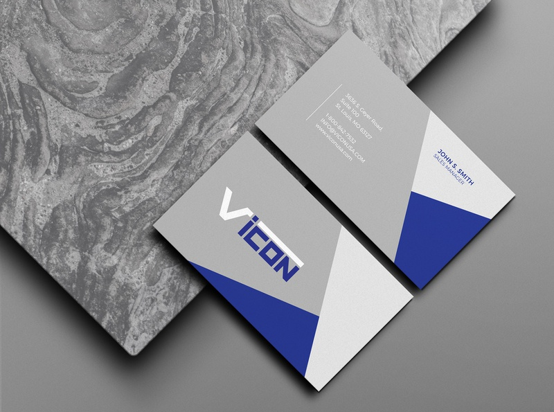 VICON Business card businesscard card brand identity