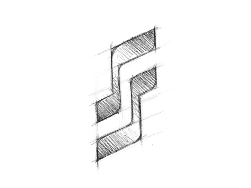 Session Studios - Logo Design Sketch drawing sketch brand identity minimal design logo clean
