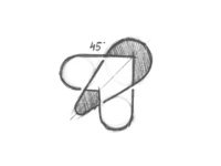 Bee Humble - Logo Design Sketch