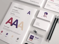 Full Stationery Identity & Proposal Templates
