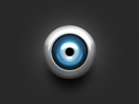 One Layer Style - the eyeball :D
