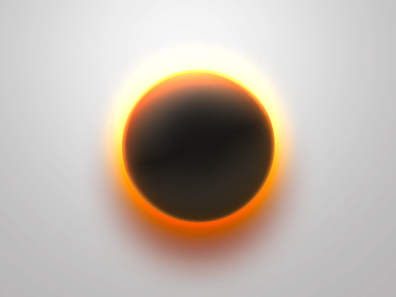 One Layer Style - Glowing Sphere free sphere psd glow style
