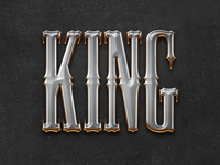 Paladin / King Text Effect Layer Style