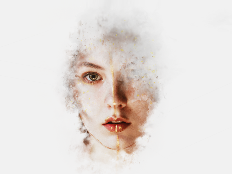 Artistic Smoke Portrait Effects for Adobe Photoshop by Giallo - Dribbble