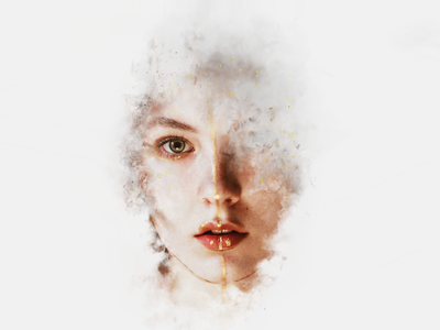 Artistic Smoke Portrait Effects for Adobe Photoshop