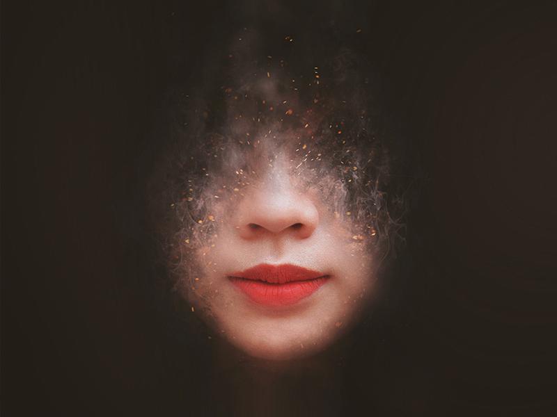 Artistic Smoke Portrait Effect by Giallo on Dribbble