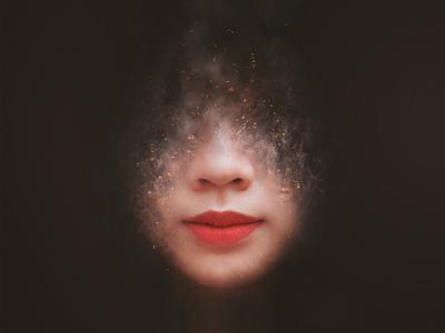 Artistic Smoke Portrait Effect