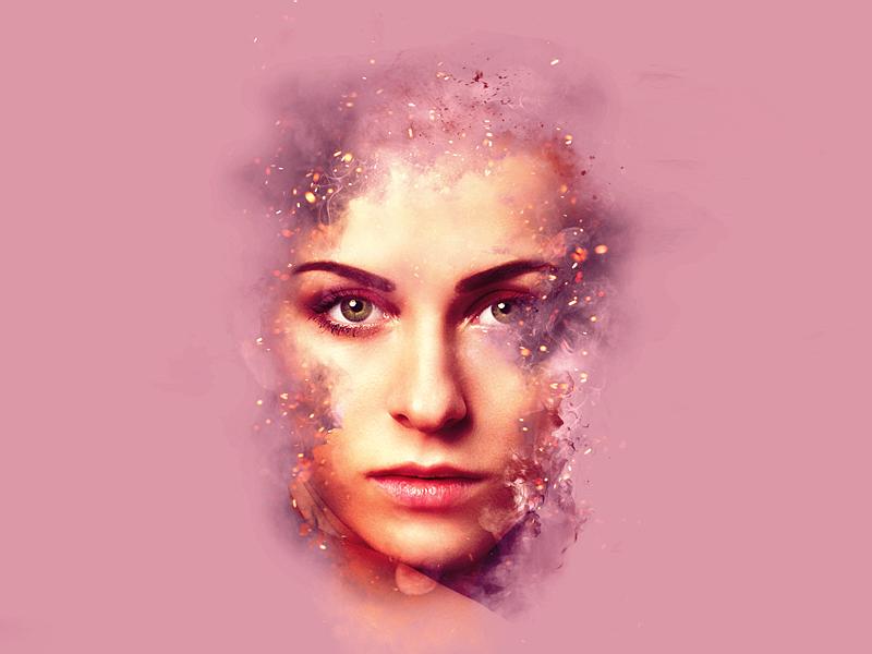 Giallo / Projects / Artistic Smoke Portrait Effects | Dribbble