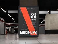 Urban Underground Poster / flyer mock-ups