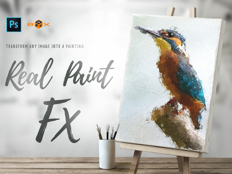 Real Paint FX Photoshop Add-On by Giallo on Dribbble