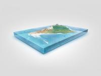 Big2 earth illustrations 3d globe natural render planet
