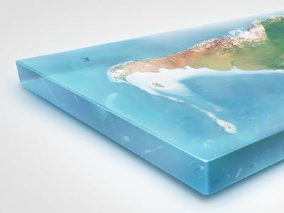 Earth2 illustrations 3d globe natural render planet