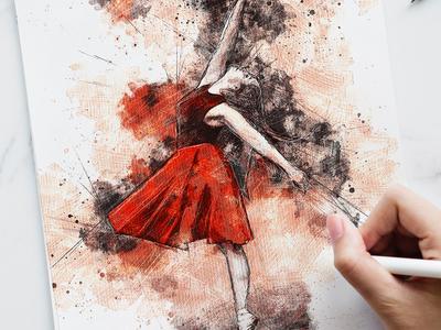 Pencil Sketch FX - Photoshop Add-On