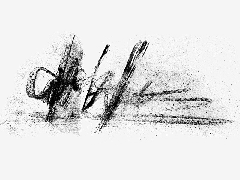 Charcoal Brushes black  white black minimal signature typography pastel charcoal pencil stroke brush