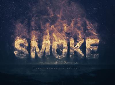 Smoke Logo / Text Effect Template