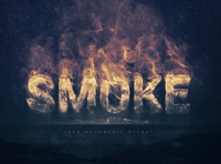 Smoke Logo / Text Effect Template