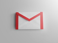 Realistic gmail icon