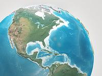Planet Earth - Realistic 3D World Globe