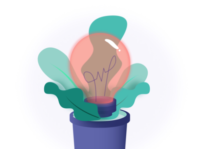 Keyvisual for my personal website gradient graphic design illustration flat design design vector