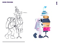 Work Process of Mine
