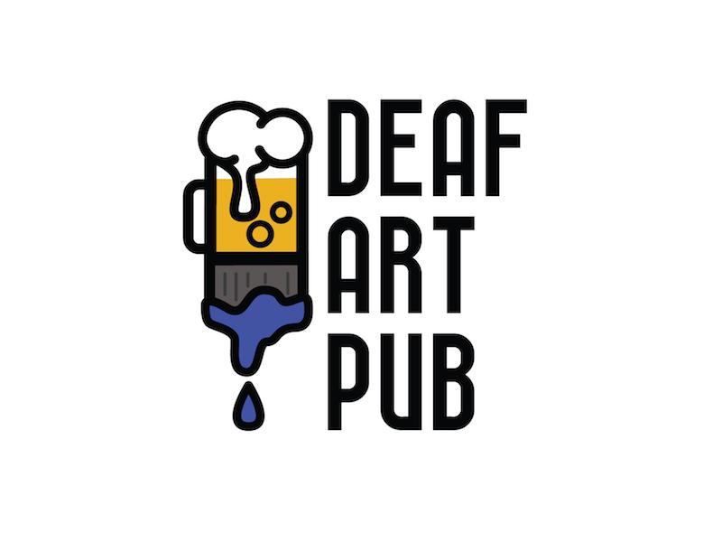 Deaf Art Pub paint foam gathering social beer pub art deaf