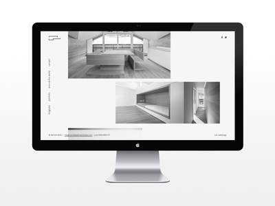 architecture architecture webdesign layout grey scale black and white minimal clean flat design